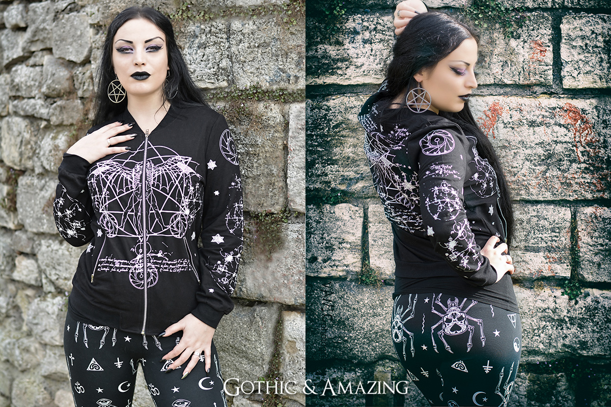 Gothic and Amazing Jawbreaker jacket and leggins