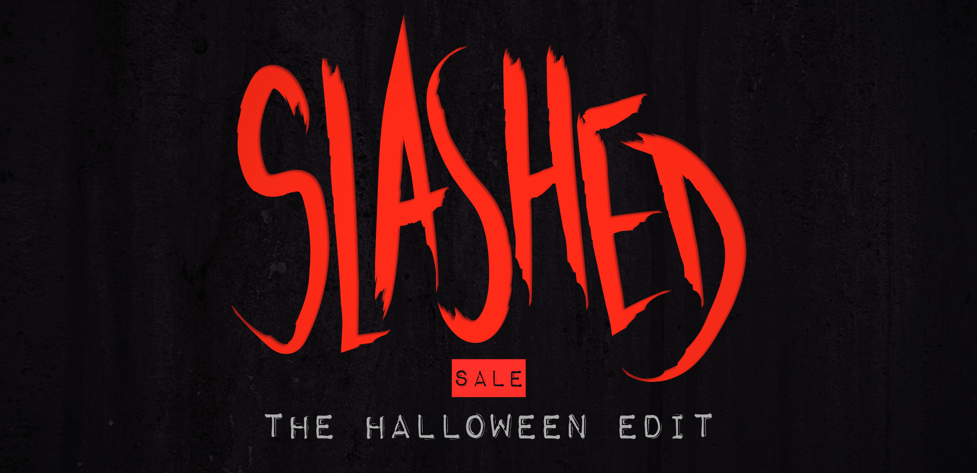 Slashed Sale