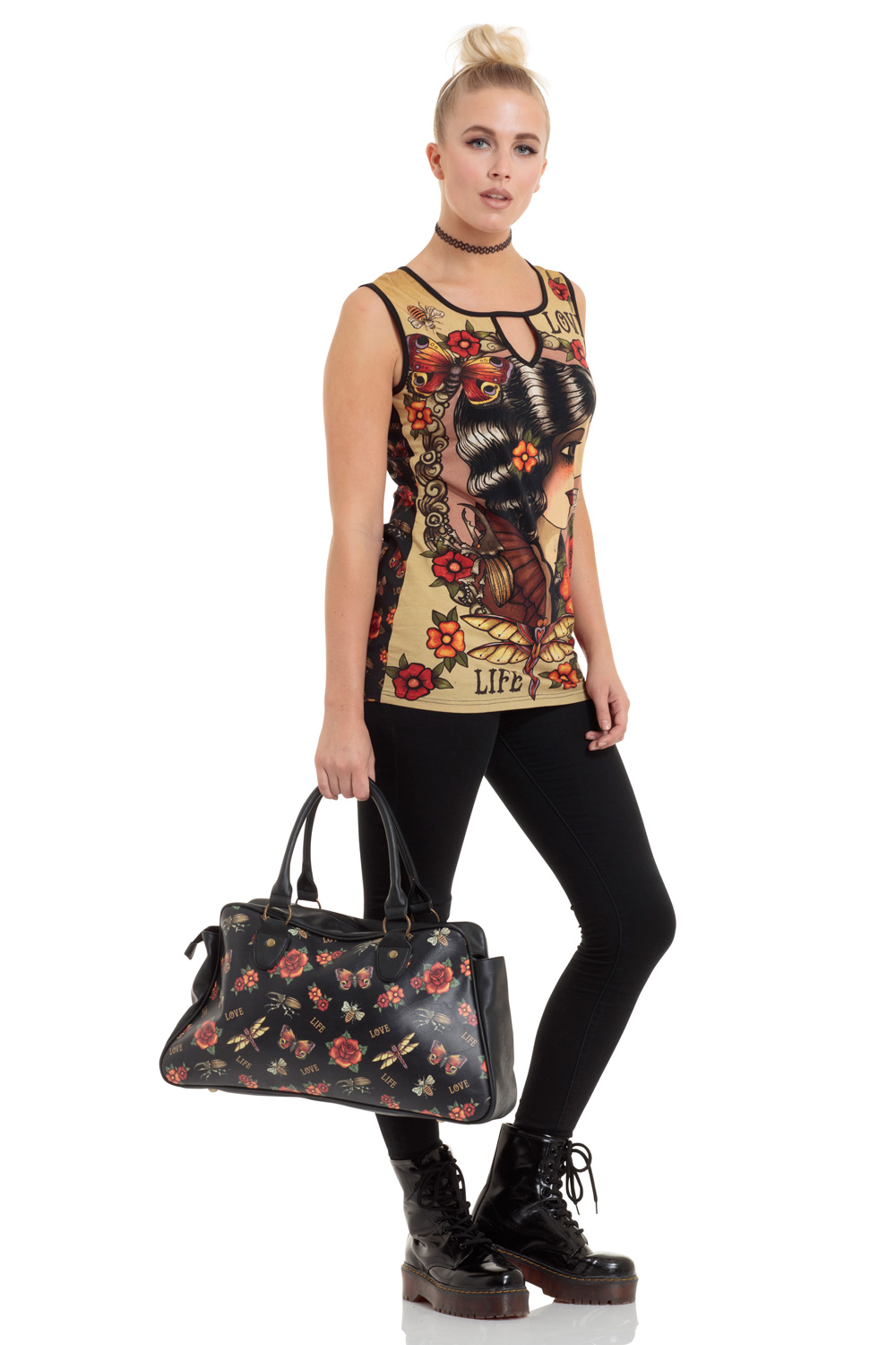 Tattoo Print Bag