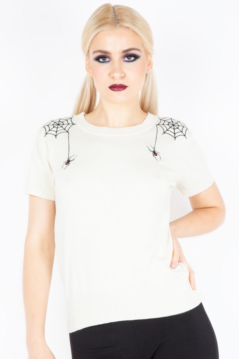Black Widow Sweater | Alternative Clothing Store | Gothic