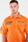 Alcatraz Orange Shirt