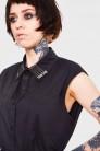 Pins and Needles Sleeveless Shirt