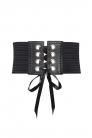 Black Lace Up Belt