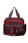 Tartan Studded Bag