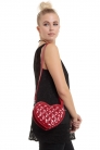 Dark Heart Red Bag