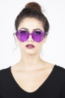 Lonely Heart Sunnies in Purple