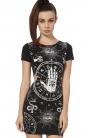 Occult Cut-Out T-Shirt Dress