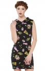Twisted Fast Food Bodycon Dress