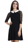 Wednesday Mesh Sleeve Dress