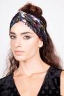 Rainbow Sequin Twist Headband