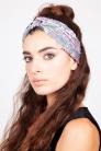 Pastel Sequin Twist Headband