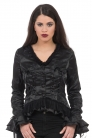 Madame of the House Lace-Up Jacket