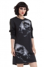 Lion Skulls Photo X-Ray Long Sleeve Sweatshirt