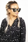 Spiked Out Sunglasses in Black