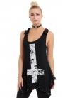 Inversion Cross Skull T-shirt