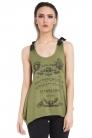 Ouija Board Green Vest