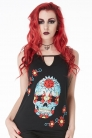 Mexican Skull Cut-out T-shirt