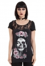 Frida Momento Lace Cut-out Back Top