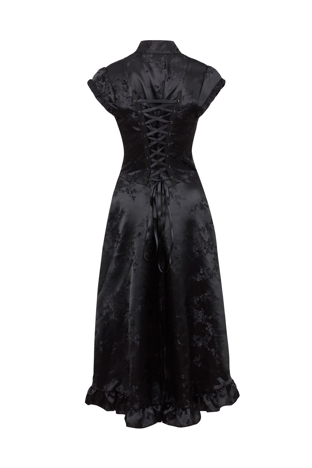 Madame of the House Goth Chinese Inspired Dress