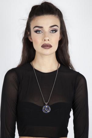 Athena Pentagram Necklace