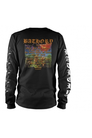 Bathory - Long Sleeve Blood Fire Death