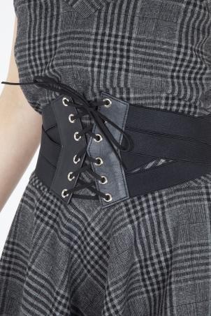 Laced Waist Corset Belt