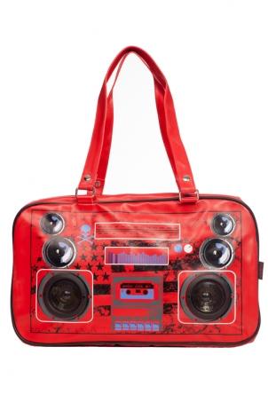 Boombox Yankee Red Bag
