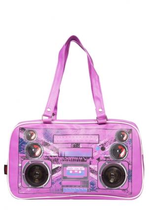Boombox Jack Purple Bag