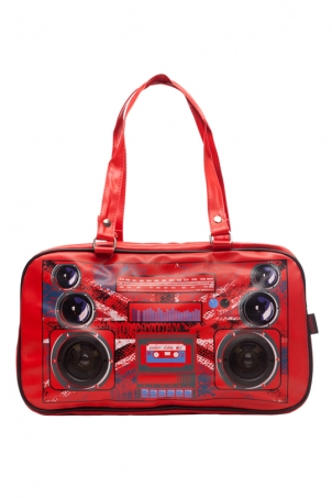 Boombox Jack Red Bag