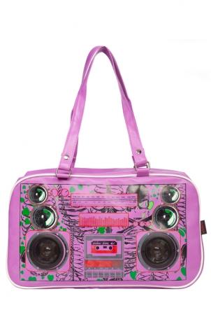 Boombox Zombie Purple Bag