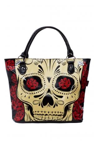 Skulls 'n' Roses Tote Bag