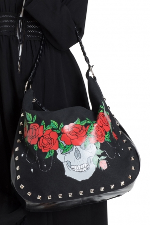 Skull Crown Shoulder Bag