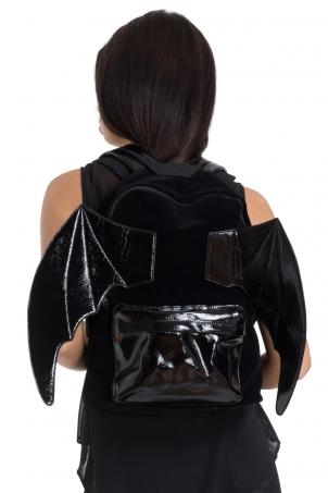 Bat PU Backpack