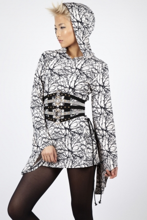 Branching Out Bell Sleeve Hoodie