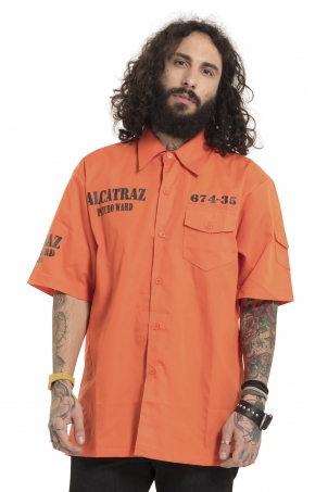 Alcatraz Orange Shirt