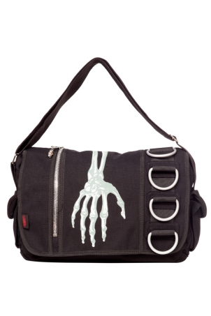 Creepy Hand Messenger Bag