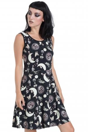 Catstellation Skater Dress