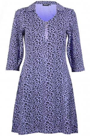Animal Nature Leopard Mini Dress