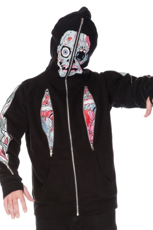 Horrified Full Face Hoodie