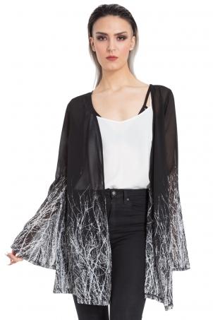 Twig Fabric Kimono