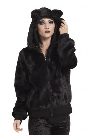 Make Me Purr Black Jacket