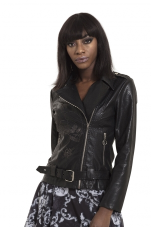 Ride Or Die Vegan Leather Jacket