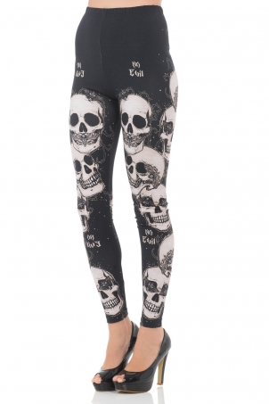 Do No Evil Leggings