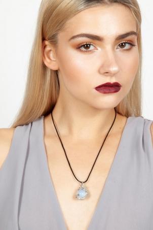 Opal Dragon Necklace