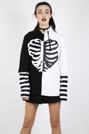 Split Personality Oversized Hoodie
