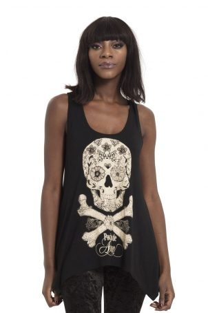 Day of The Dead Apothocary Top