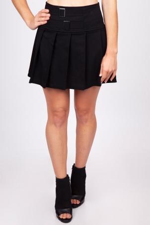 Strapped In Mini Skirt