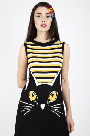 Telepathic Cat Dress