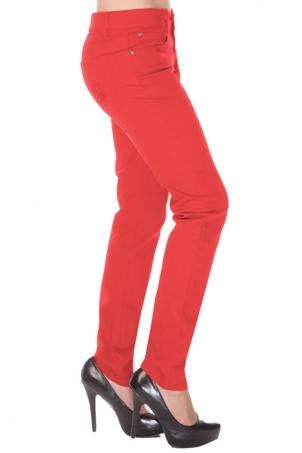 Mono Drainpipe Jeans Red