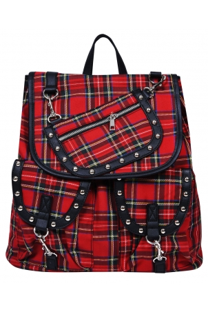 Weight Of The World Tartan Backpack